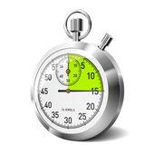 Mechanical stopwatch — Stock Vector