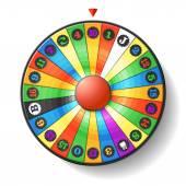 Fortune Wheel — Stock Vector