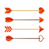 Cupid's arrows — Stock Vector
