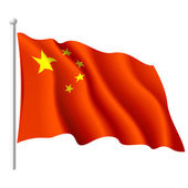 Flag of the People's Republic of China — Stock Vector