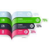 Infographics design  elements. — Stock Vector
