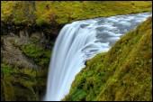 Skógafoss waterfall — Stock Photo