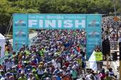 Finish Line Cape Town Cycle Tour — Stock Photo