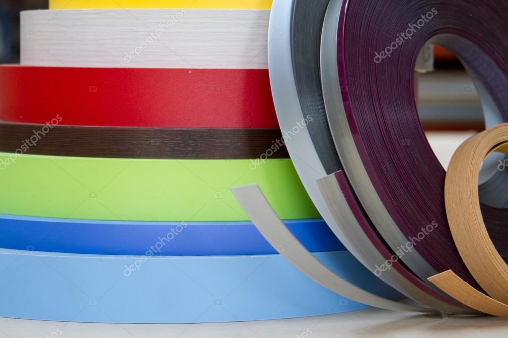 Colori differenti di melamina bordo per mobili complementi d 39 arredo foto stock ramann - Melamina mobili ...