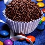 Brazilian sweet Brigadeiro — Stock Photo #69727847