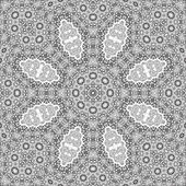 Abstract Graphics Ornament in Fractal Geometry Style — Stock Photo