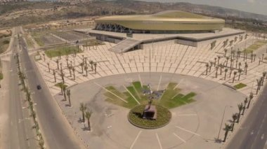 Sammy Ofer Stadium in Haifa, Israel — Vídeo de Stock