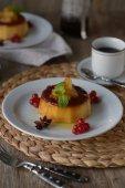 Ananas flan — Photo