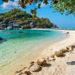 View of Nang Yuan island of Koh Tao island Thailand — Stock Photo #70295337