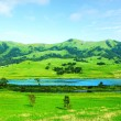 Green hills at day — Stock Photo #71419517