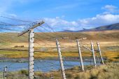 China border fence — Stock Photo
