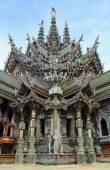 Helgedomen av sanning i pattaya — Stockfoto