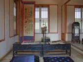 Interior of traditional korean home — 图库照片