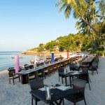 Beach Restaurant on the coast — Stock Photo #71420497