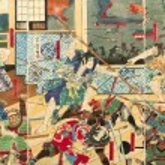 ������, ������: Samurai battle old paintings