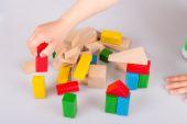 Coloridos bloques de madera — Foto de Stock