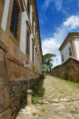 Street in Town Of Ouro Preto — ストック写真