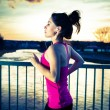 Young woman jogging — Stock Photo #70561741