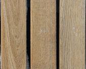 Frozen wooden oak lath board background vertical — Stock Photo