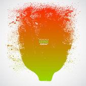 Grunge watercolor banner — Stock Vector