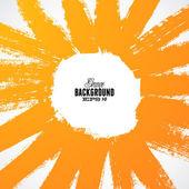 Grunge sun rays background — Stock Vector