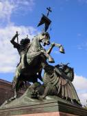 St. Georges fight against the dragon, Berlin, Germany — Stock Photo