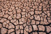 Soil arid , season water shortage — Stock Photo