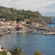 Sea port and houses in Sicily. — Stock Photo #78968152