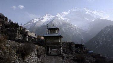 Annapurna Himal region — Stock Video