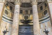 Tomb of Victor Emmanuel II in Pantheon. Rome. Italy — Stock Photo