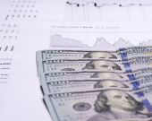 Analysis of stock exchange trading schedules — Fotografia Stock
