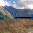 Mountain wooden hut — Stock Photo #70646535
