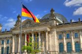 The Reichstag building in Berlin. — Stock Photo