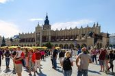 Cloth Hall (Sukiennice) in Cracow, Poland. — Stock Photo