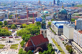Aerial view of Berlin, Germany. — Stock Photo