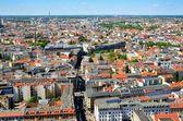 Vista aérea de berlim, alemanha. — Fotografia Stock
