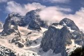 Winter mountain landscape. — Stock Photo