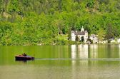Lake Hallstatter in Austria. — Stock Photo