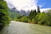 River in mountains. — Stock Photo