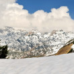 Mountain landscape in Austria. — Stock Photo #75615435
