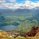 Mountain landscape in Austrian Alps. — Stock Photo #75615799