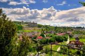 Castle ruins in Ogrodzieniec, Poland. — Stock Photo