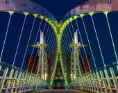 Salford Quays, Manchester — Stock Photo
