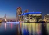 Media City, Salford Quays, Manchester — Stock Photo