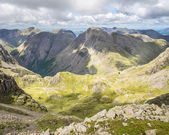 Great Gable from Scafell Pike — Stock Photo