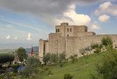 Castle areal and Skanderbeg museum in Kruje, Albania — Stock Photo