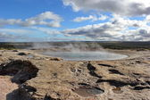 Geysir, Iceland — Stock Photo