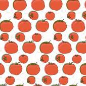Tomatoes pattern5 — Stock Vector