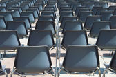 Chairs in outdoor — Stock Photo