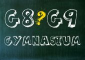 G8 G9 Gymnasium Pro Contra — Stock Photo